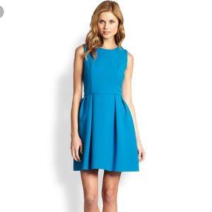 Shoshana Allie Blue Fit and Flare Dress